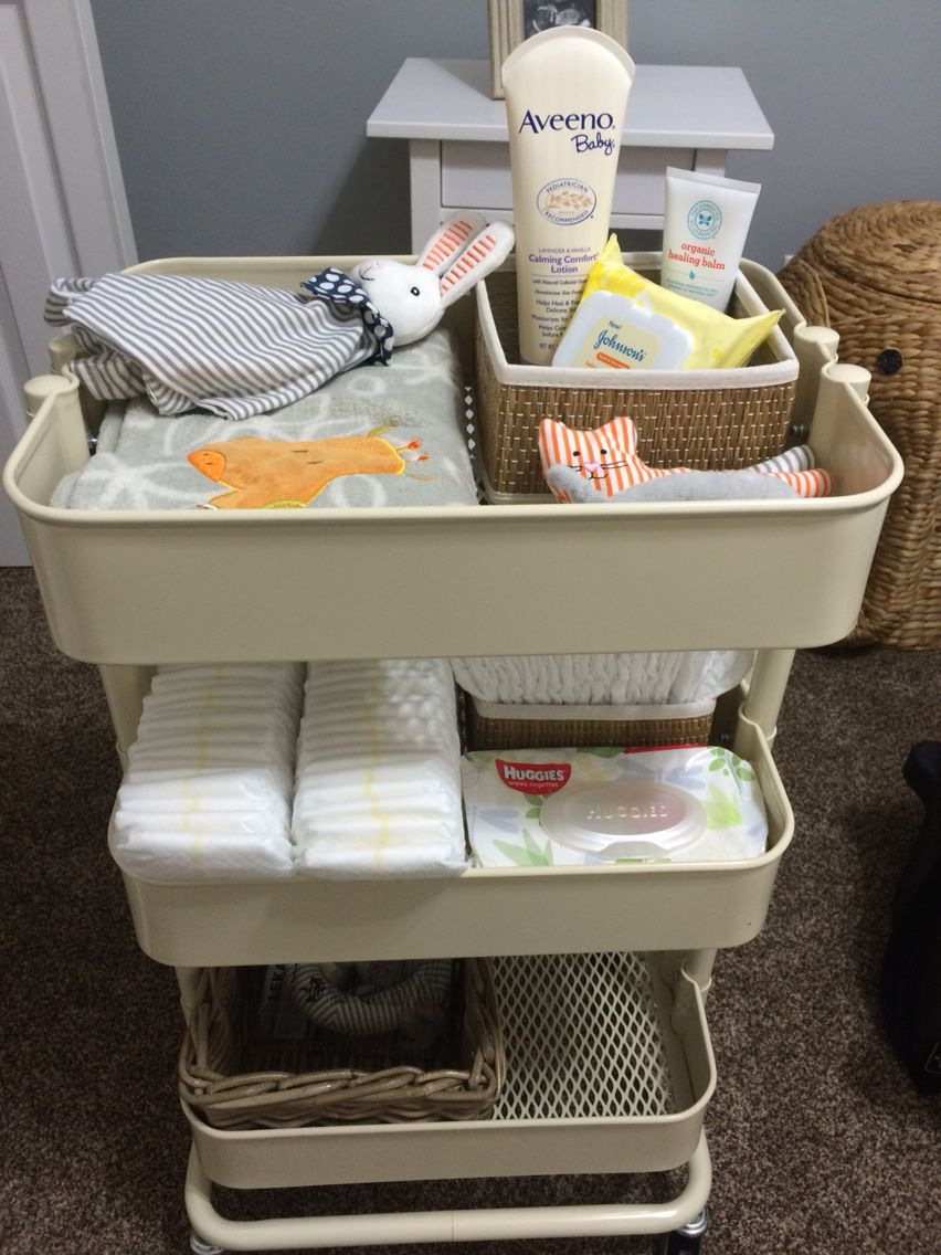 IKEA Diaper Cart