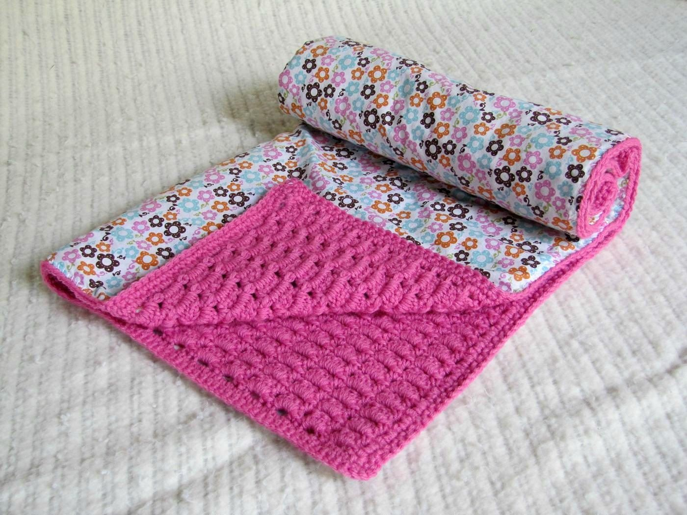 Sweet dreams hand crocheted lined baby blanket bright pink by modern crochet sweet dreams hand crocheted lined baby blanket bright pink by rosebudboutiqueandco on etsy bankloansurffo Choice Image