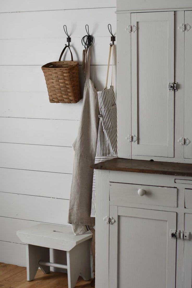 Joanna gaines hallway decor  Farmhouse Style Cabinet Makeover  Farmhouse cabinets Joanna gaines