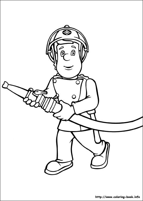 Fireman Sam Coloring Picture Fireman Sam Episodes Coloring