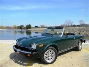 1980 fiat spider 2000.- Once was mine and will be mine again someday.