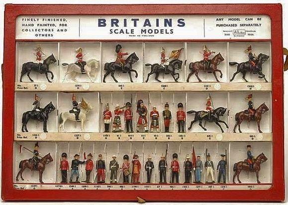 vintage brittains lead toys