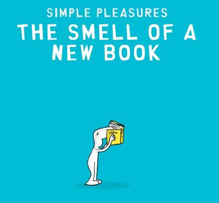 #the smell of a new book