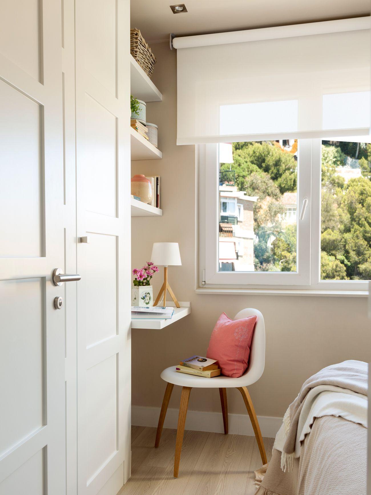 10 Ideas Geniales Para Dormitorios Peque Os Dormitorios Peque Os  ~ Vestidores En Habitaciones Pequeñas