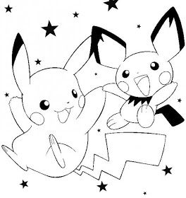 free printable pokemon and pikachu coloring pages pokemon party invitations and activity sheets for pokemon fans of all ages - Pokemon Free Printable Coloring Pages