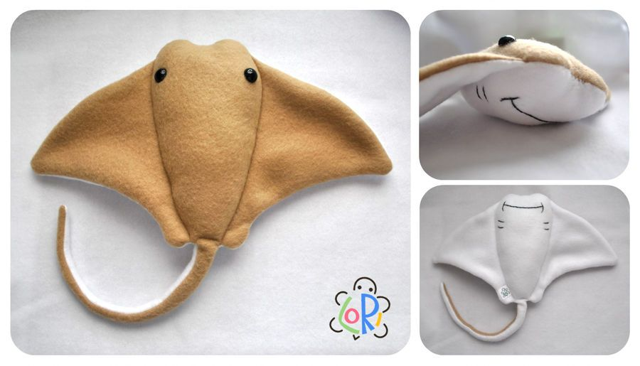 stingray plush #stuffedanimals
