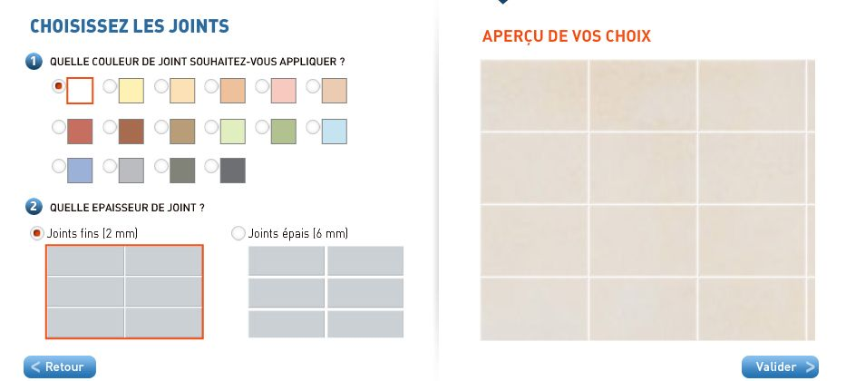 Joint Carrelage Couleur Bar Chart Chart