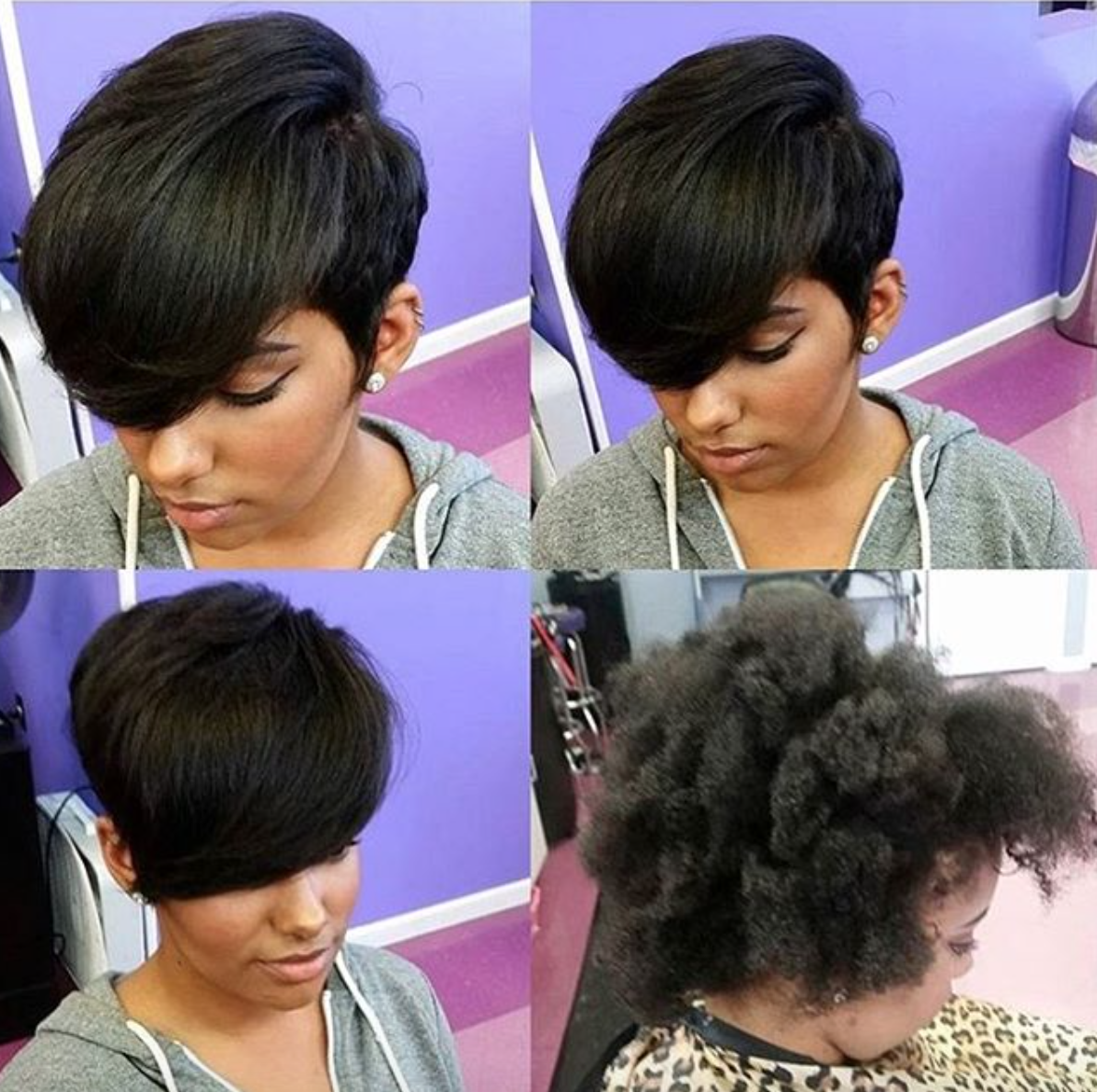 Pin by lilly stanley on hair pinterest black hair short hair