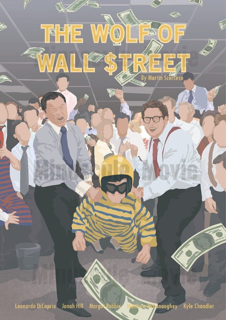 the wolf of wall street movie inspired poster martin on wall street movie id=69613
