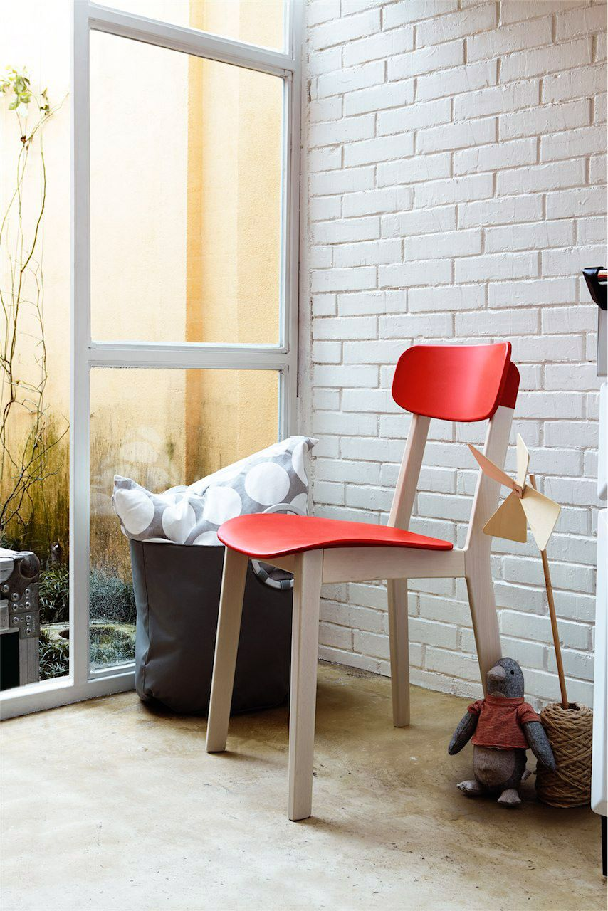 Calligaris | Cream Dining Chair | The Slightly Curved Backrest And  Contoured Seat Provide The Perfect Comfort | Available In A Range Of  Colours | Cream Bar ...