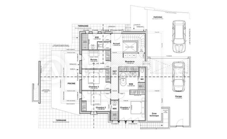 Maison Camille Avec Images Plan Maison Contemporaine Plan Maison Plan Maison Moderne