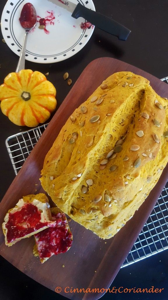 Pumpkin Pie Spice Sandwich Bread