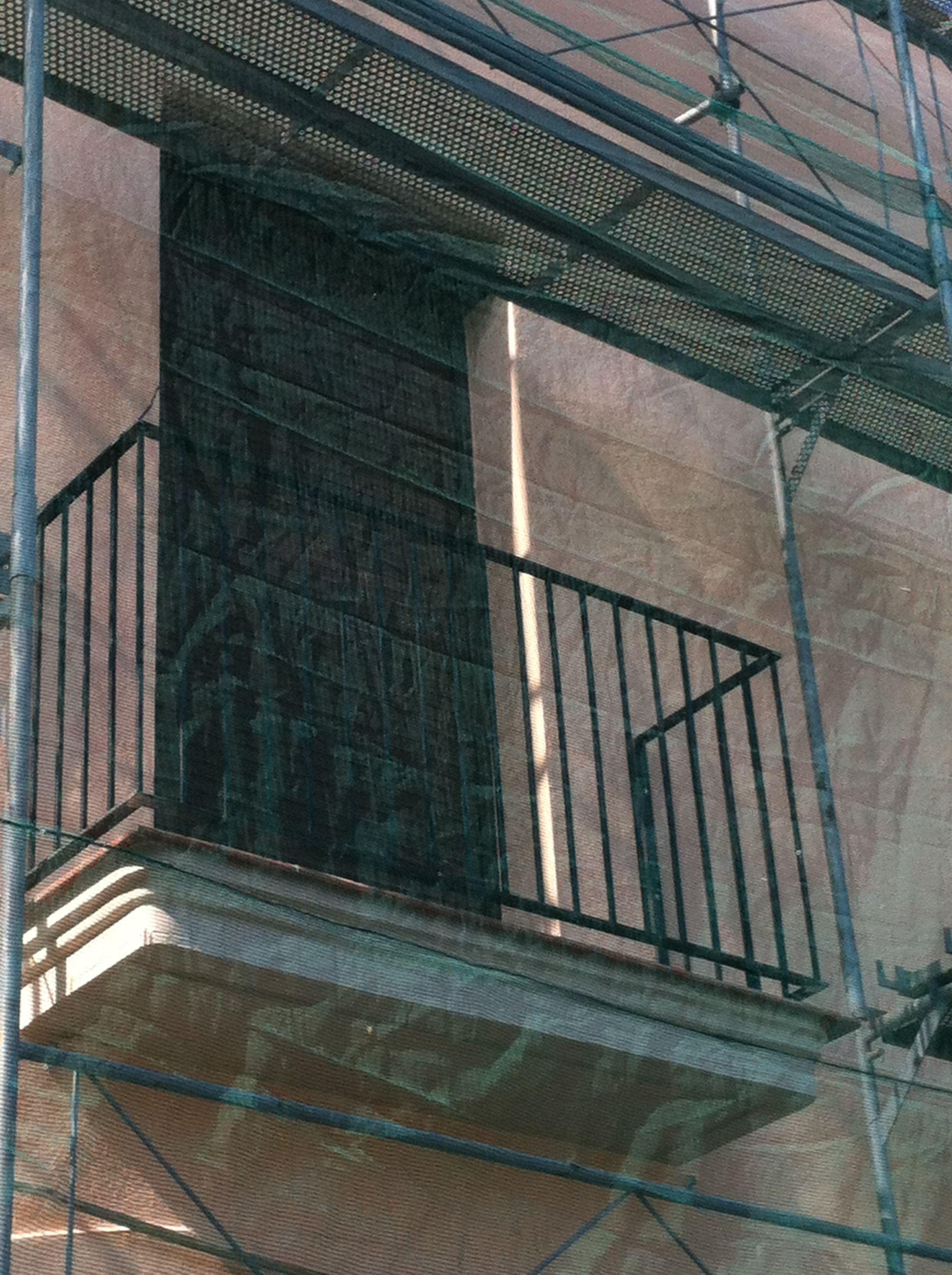 Baranda para balc n en tubo de hierro para pintar for Terrazas hierro