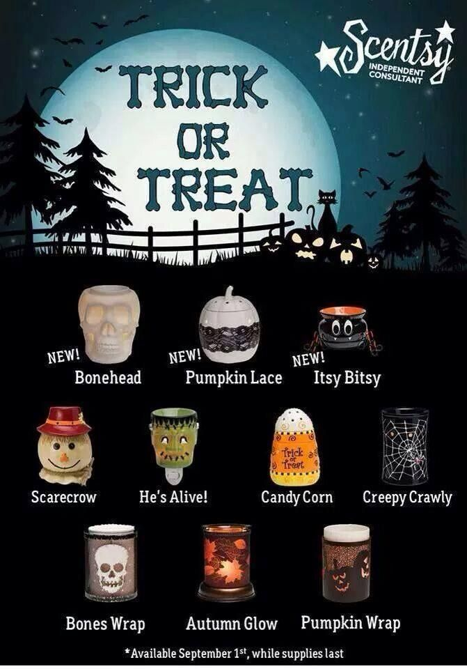 Getting Ready For Halloween! Https://trishmorton.scentsy.us/
