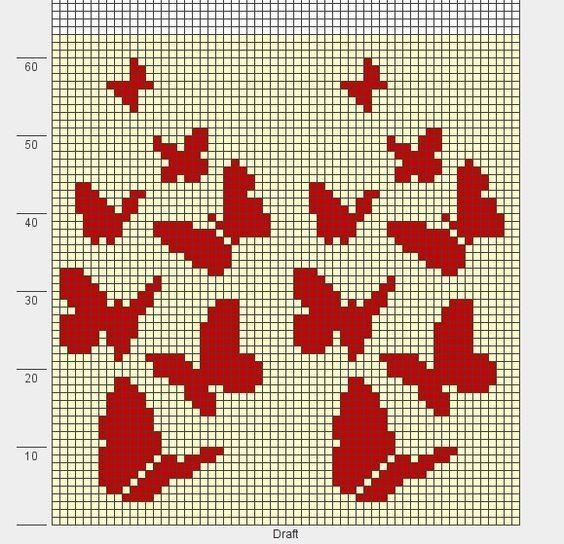 Wayuu Mochilla Bag Chart Stichmuster Kreuzstichmuster Muster Stricken