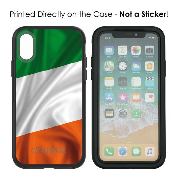 OtterBox Symmetry   Ireland Waving Flag  Apple iPhone  | Etsy