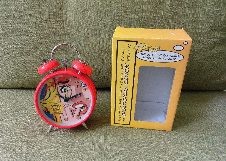 Biological Clock Novelty Alarm Clock For A Unique Birthday Or Novelty Present Gift Clock Alarm Clock Novelty