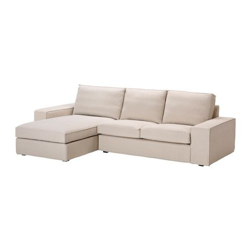 Kivik divano a 2 posti e chaise longue ingebo beige chiaro ikea home pinterest - Kivik divano ikea ...