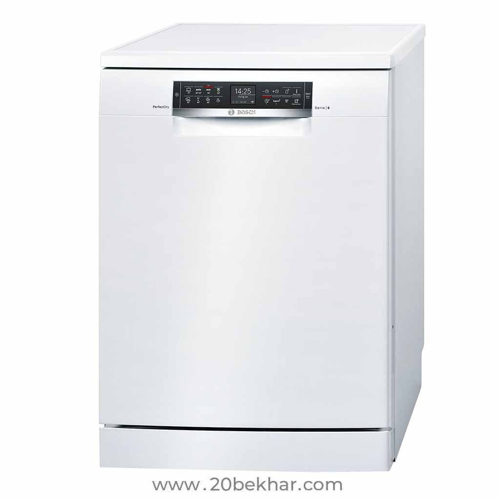 Bosch Dishwasher 14 Place Series 6 Sms68tw06e Bosch Dishwashers Dishwasher Dishwasher White