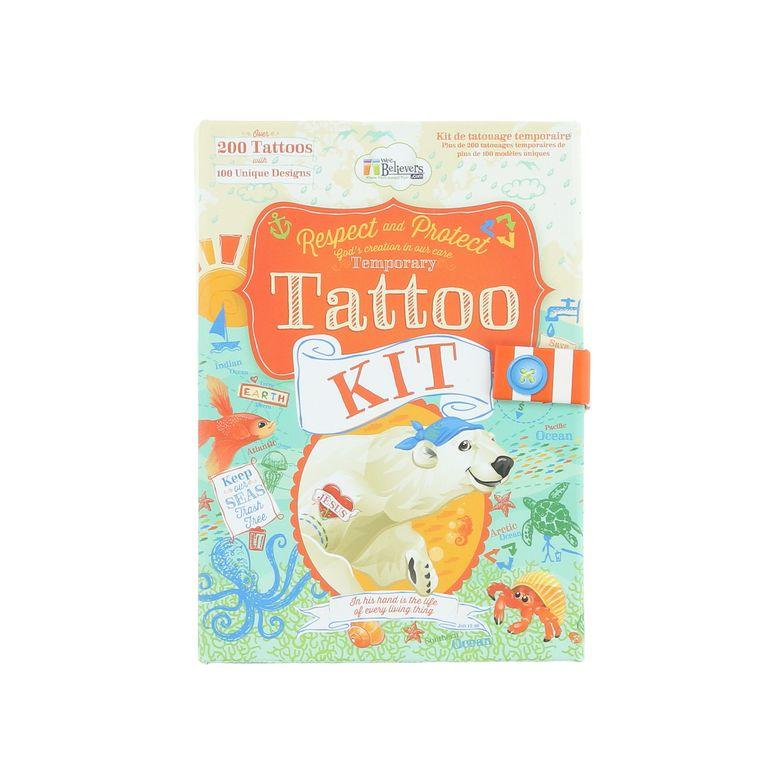 Henna Tattoo Kits For Kids: Ocean Temporary Tattoos In 2019