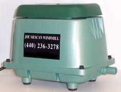 Hiblow Pond Aeration Pump Free Shipping Hp80 Air Pump Septic