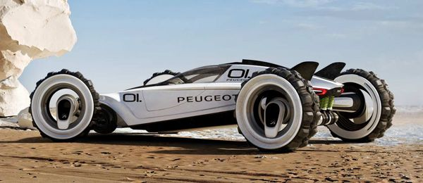 The Peugeot XRC Concept. Visit www.breakeryard.co.uk for all your ...