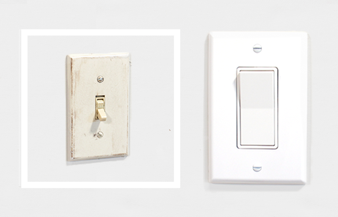 Updating A Basic Light Switch In Your Home Is A Simple Diy Project You Can Knock Out Typically In About A Replace Light Switch Light Switch Light Switch Covers