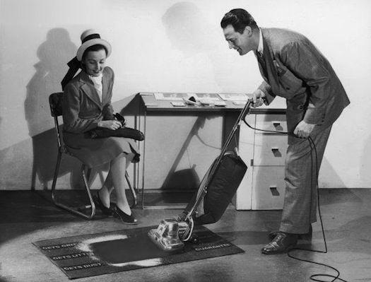 1960s Door To Door Salesmen Door To Door Demonstrations Were Common In The 1950s And 1960s Best Vacuum Vacuum Cleaner Salesman