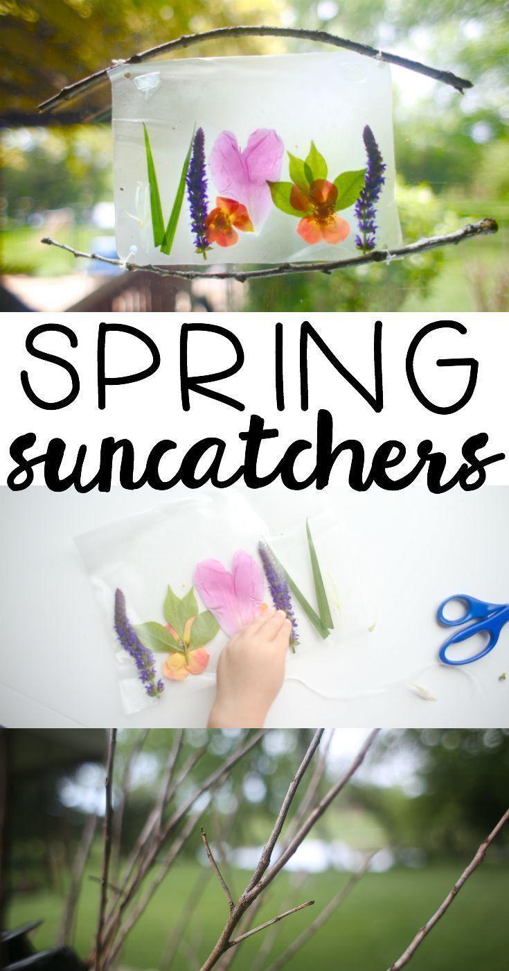 Photo of Spring Suncatchers – I Can Teach My Child!