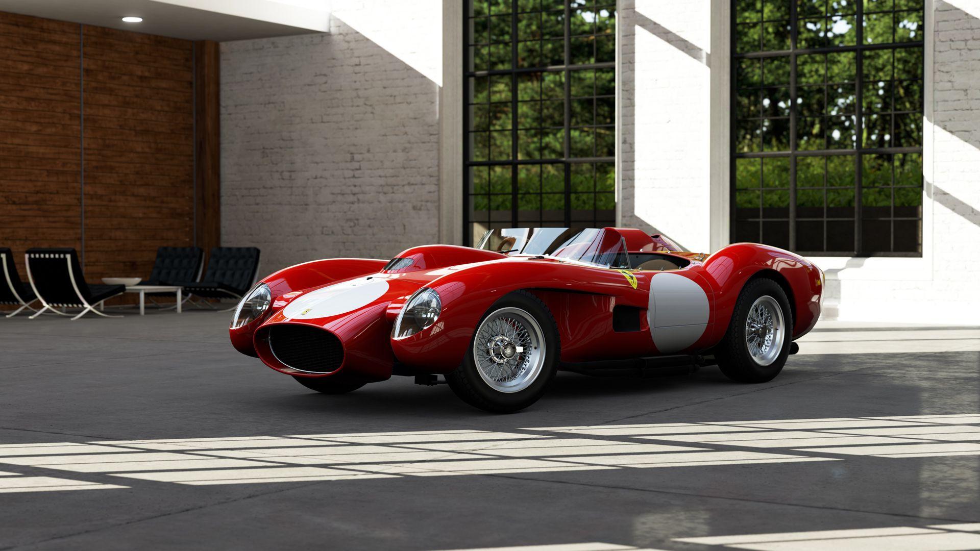 Ferrari 250 Tr Testa Rossa De 1957 290 Cv Ferrari Ferrari Testarossa Expensive Cars