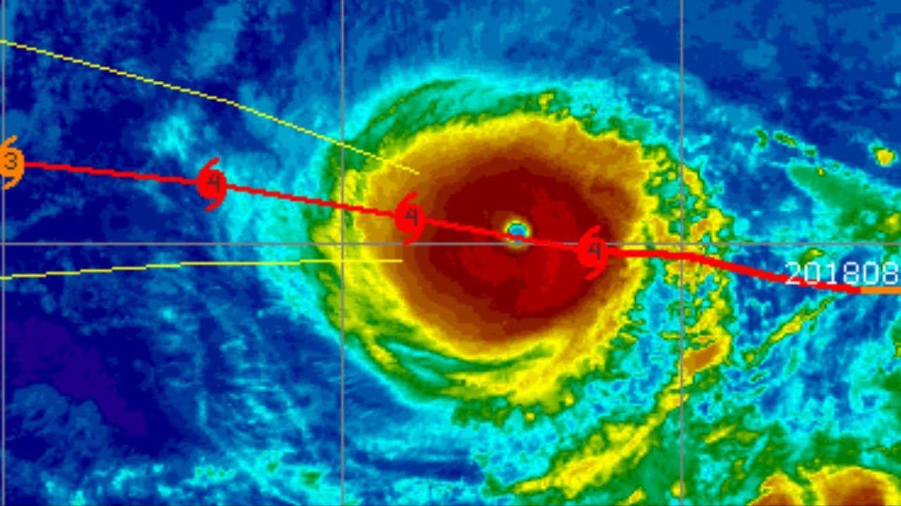 Warning Hurricane Hector Growing To Cat 5 Tropical Storms John Il Tropical Storm Storm John