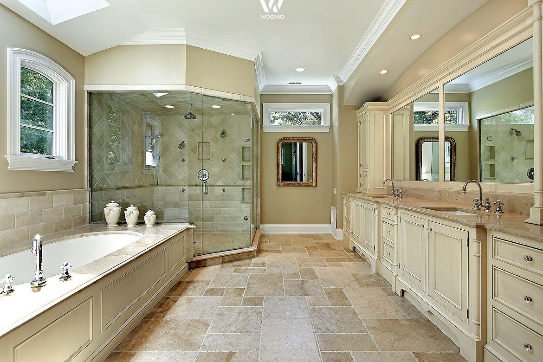 Der Landhaus Stil Kann Auch Im Badezimmer Sehr Hochwertig Und