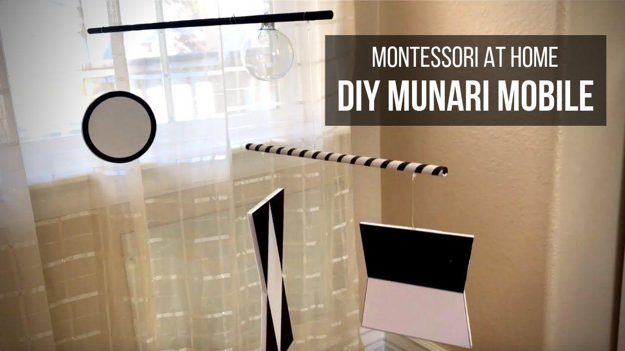 Montessori at home diy munari mobile youtube