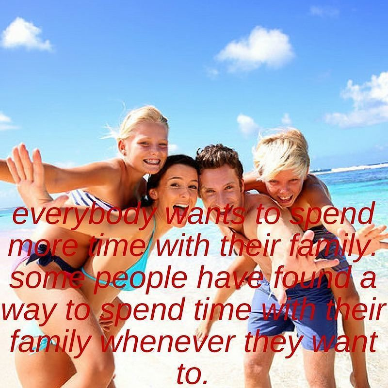 Everybody wants to spend more time with their family. Some people have found a way to spend time with their family whenever they want to. #sahd #sahm #family #familylife #goalsanddreams