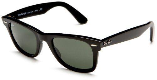 Ray-Ban RB2140 Original Wayfarer Icons Polarized Sportswear  Sunglasses Eyewear - Black G afc24ecd6ca5