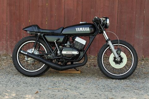 yamaha rd350   cafe racers honda 400/4 & 350/4 ideas/project 1