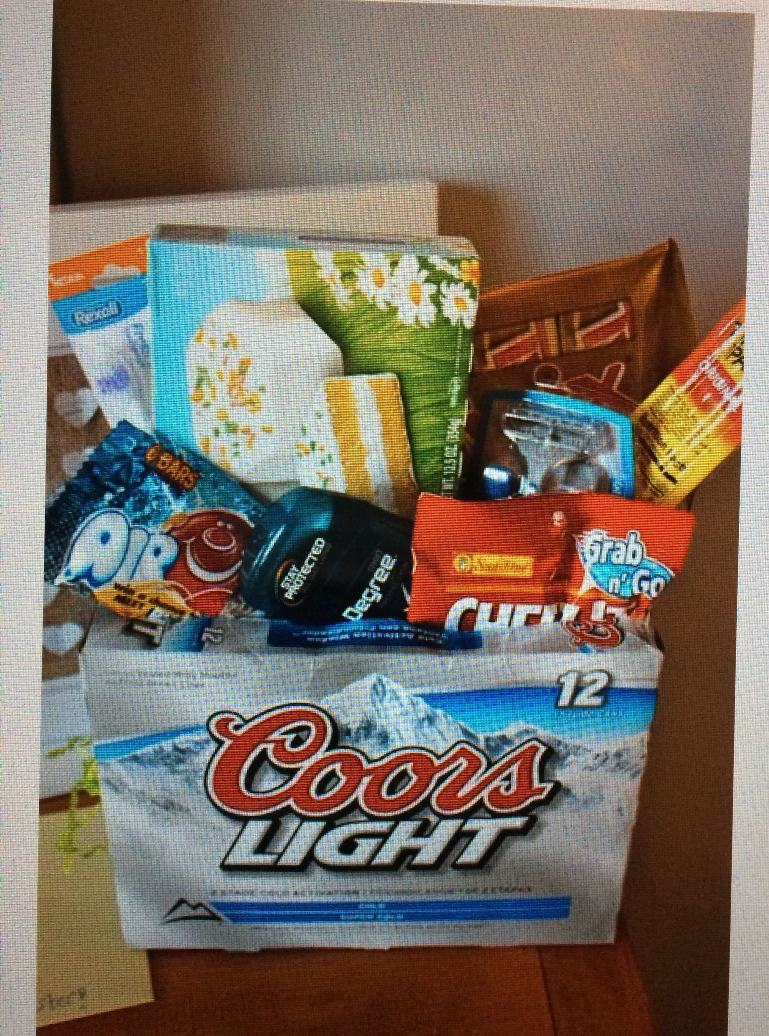 Good idea for Easter Basket heres another ideas