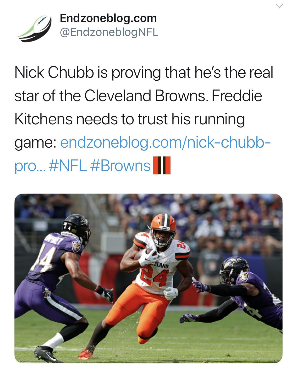 Freddie Kitchens needs to trust his running game