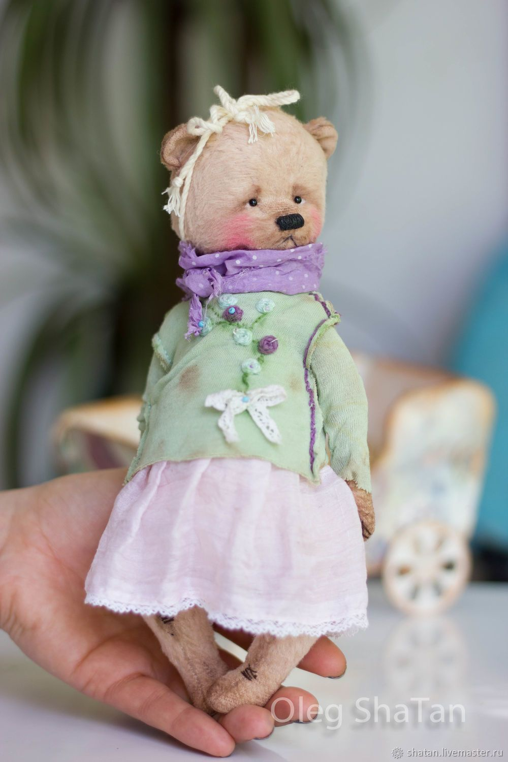 50f03440d7a81 Bear teddy Verka – shop online on Livemaster with shipping