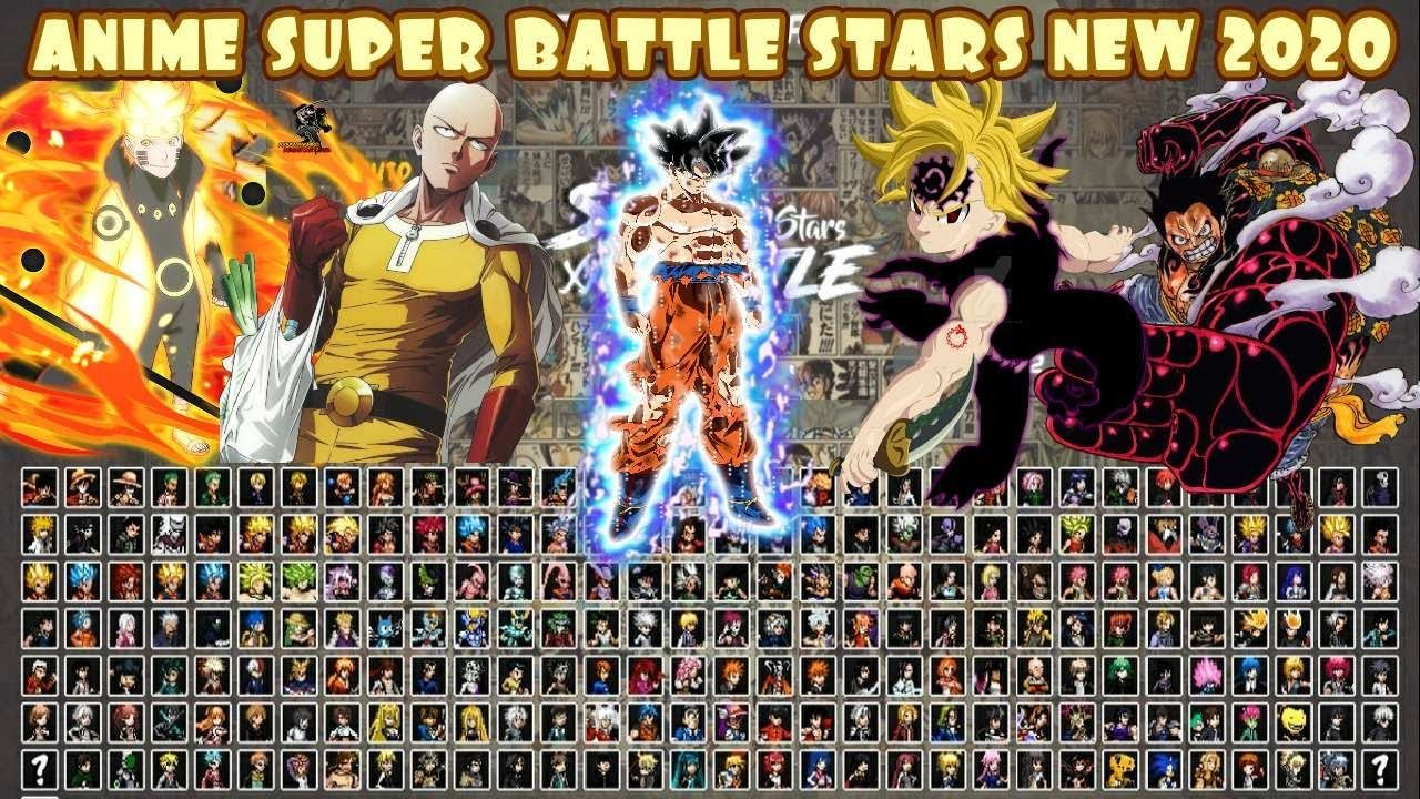 Anime Super Battle Stars MUGEN NEW 2020! in 2020 Battle