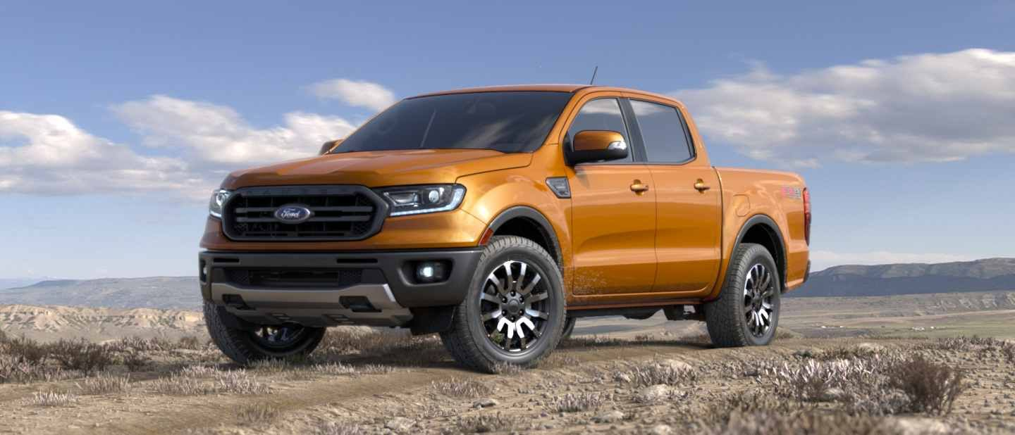 New 2019 Ford Ranger Midsize Pickup Truck Back In The Usa Fall