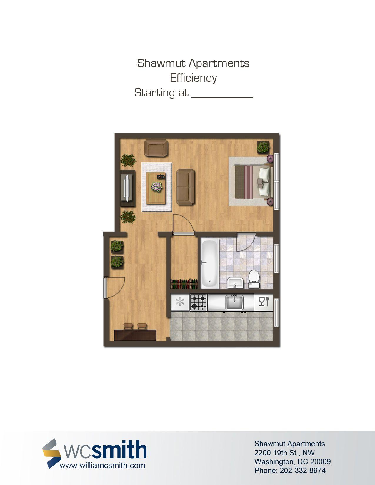 Shawmut Apartments in Adams Floor plans