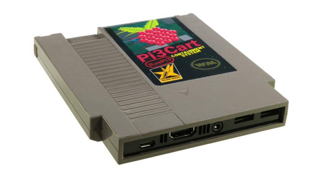 Pi3Cart: NES Cartridge Case for Raspberry Pi 3 project video ...