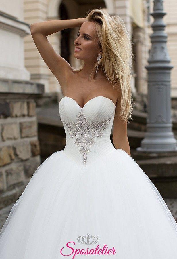 abiti da sposa sfumati, abiti da sposa su misura, abiti da