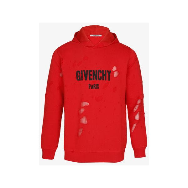 d5646bad6b9023 GIVENCHY PARIS destroyed hoodie ❤ liked on Polyvore featuring tops,  hoodies, distressed top, distressed hoodie, givenchy hoodie, givenchy hoody  and hooded ...