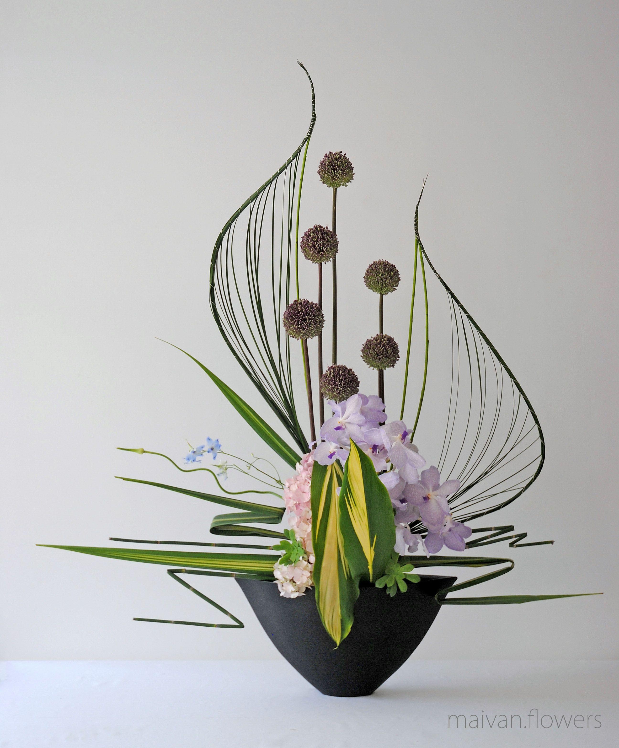 art floral moderne floral design by thai thomas mai van france thai thomas. Black Bedroom Furniture Sets. Home Design Ideas