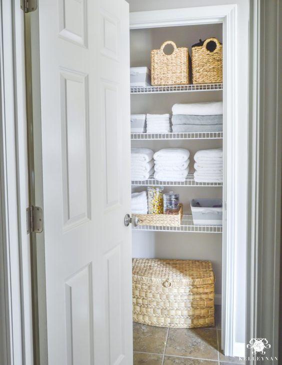 Lovely No Linen Closet Ideas Selection Dream Home