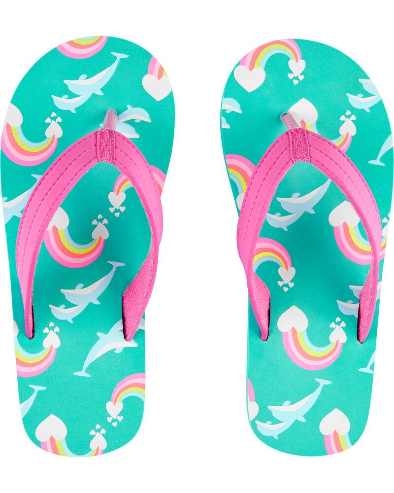 Carter's Unicorn Flip Flops in 2020