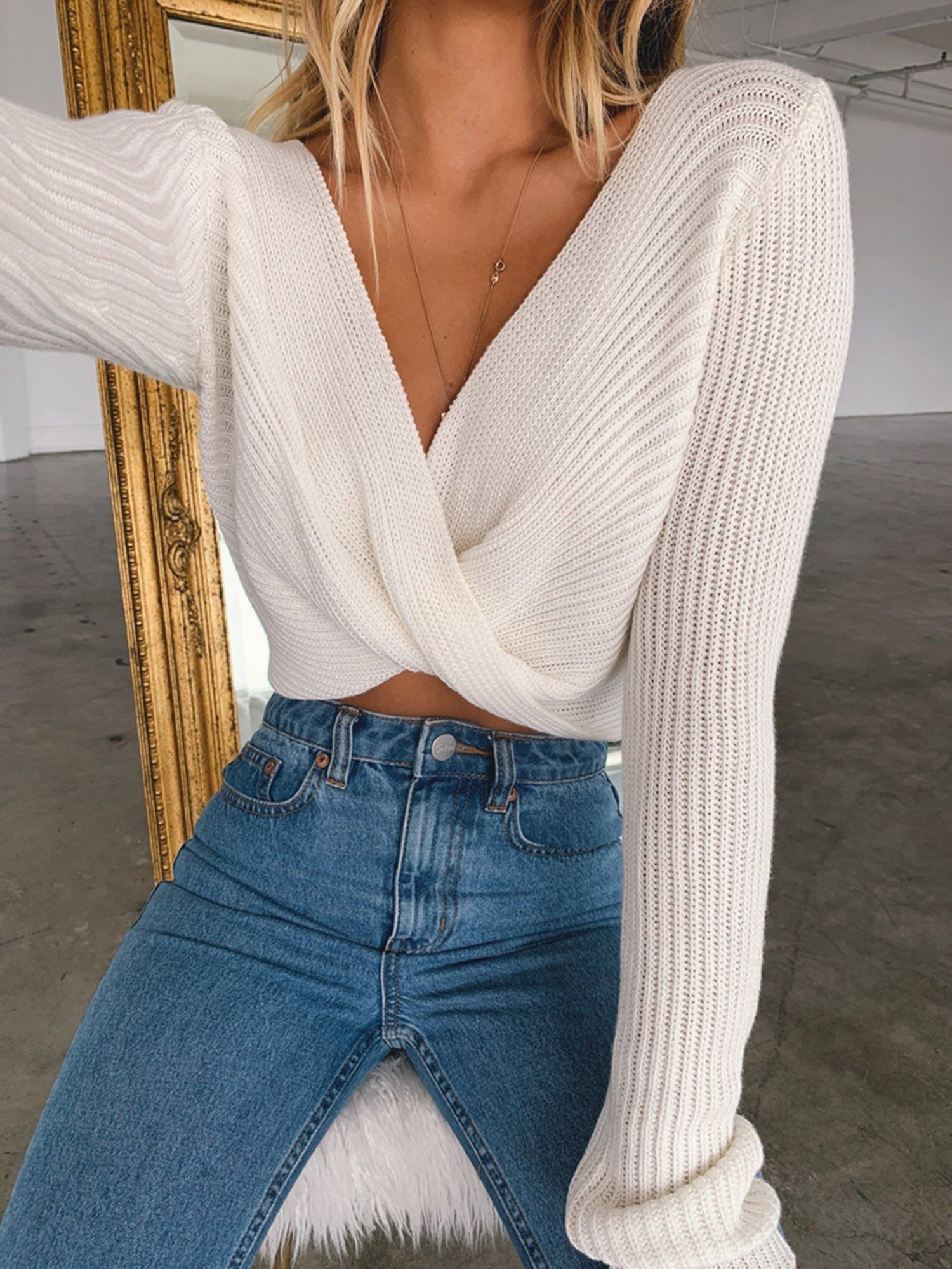 #sweateroutfits #Fashion #front #knit #long #mode ados    – Mode