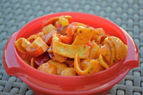Corn Salad Chips Recipe